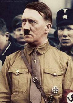 What is a good thesis statement for a history essay im writing about Adolph Hitler?