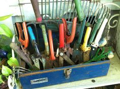vintage garden tools...monkeybox: Yard and Garden Junk
