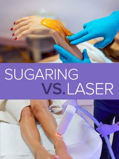 We'll help you make up your mind between sugaring and laser hair as your go-to hair removal option. Body Waxing, Sugaring, Make Up Your Mind, Laser Hair Removal, Makeup Yourself, How To Remove