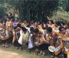 Swazi traditions wedding Zulu Traditional Attire, African Traditional Dresses, African Wear, African Fashion, African Outfits, African Wedding Attire, Tribal Dance, African American Weddings, Afro Style