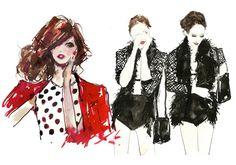 30 Fashion Illustrators You Can't Miss Part 3