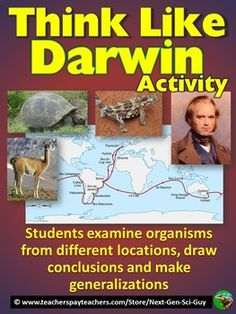 Evolution by Natural Selection | Charles Darwin | High School Biology | Middle School Science | NGSS Next Generation Science Standards