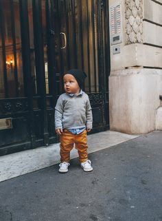 Bike Ride in Paris - Barefoot Blonde by Amber Fillerup Clark Toms Outfits, Baby Outfits, Little Boy Outfits, Toddler Outfits, Trendy Boy Outfits, Toddler Boy Fashion, Little Boy Fashion, Toddler Boys, Baby Kids