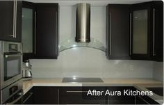 Many people are not happy with their old and out dated kitchen cabinets. They want to remodel their kitchen in modern style. But, they don't have sufficient money for kitchen remodeling.Painting of old cabinets is one of the best cabinet updating options. Traditional Kitchen Cabinets, Old Cabinets, Kitchen Remodeling, Reflection, Kitchen Appliances, Money, Eye, Happy, People