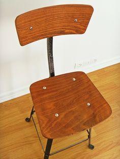 chaise datelier en bois et mtal fauteuils chaises home accueil - Chaise Eleven Patchwork Colors
