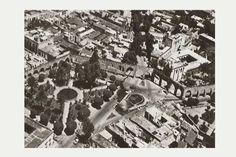 Foto aérea en los 70s