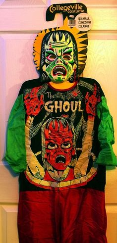 The Ghoul vintage Halloween costume.