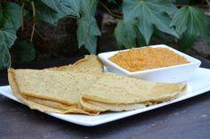 D comme Divin Indian Food Recipes, Ethnic Recipes, Crepes, Meal Planning, Veggies, Vegetarian, Bread, Vegan, Meals