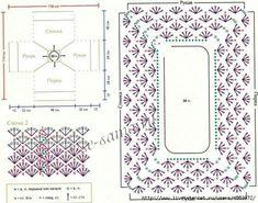 Materiales gráficos Gaby: Ideas de punto Tejer mangas y escotes