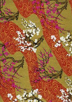 Japanese Yuzen Chiyogami Washi Paper Panorama