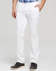 Boss Hugo Boss Rice Cotton Stretch Pants - Slim Fit - Bloomingdale's Exclusive