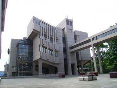 Brutalist Building  Leeds University by Roger Stevens