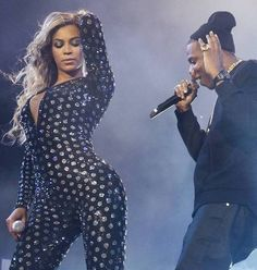 Beyonce and Jay-Z | On the Run tour in London.