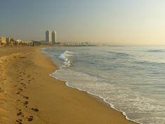 Barcelona beach ribonito
