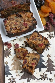 Step by step instructions for Christmas Cake lovers Sweet Recipes, Cake Recipes, Dessert Recipes, Food Cakes, Cupcake Cakes, Fruit Cakes, Cupcakes, Delicious Desserts, Yummy Food