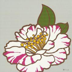 camellia pop print