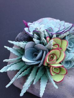 felt succulent plant No water no dirt no problem by miasole