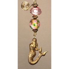 MERMAID BATHROOM LIGHT PULL