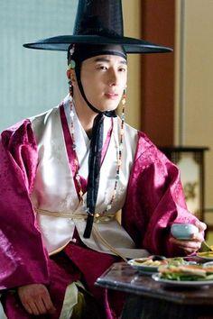 "Korea, Joseon Dynasty, Male Aristocrat, ""Yangban"", The Moon that Embraces the Sun"
