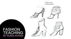 Designing shoes inspired by volume - YouTube