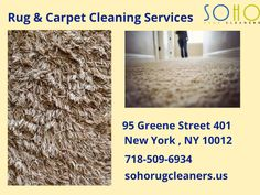 SoHo Rug Cleaning - Providing The Best Carpet Cleaning 7 Rug Cleaning Services in NYC. Consult With Us And Book Your Cleaning Appointment Now!