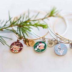 NEW DISNEY HOLIDAY ALEX AND ANI BANGLES AVAILABLE!
