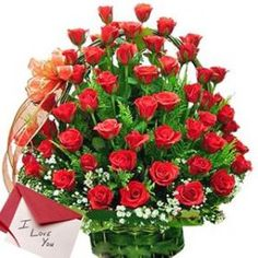 Our Lovely Roses Arrangement is more appropriate for Sending Your Loving Regards With. Send these through Shop2Nellore.