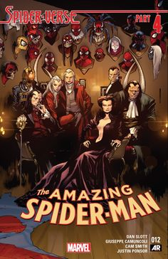 Cover to Amazing Spider-Man #12 (vol. 3)