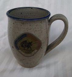 American Birkebeiner Coffee Mug 40th Anniversary Cross Country Ski Stoneware #Deneen