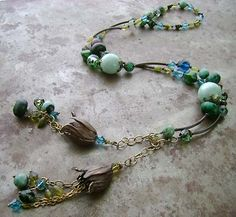 lariat by humblebeads, via Flickr