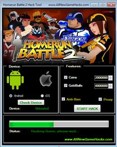 Get unlimited Coins and GoldBalls with our Homerun Battle 2 Hack Tool. This hack tool works on all Android and iOS devices and supports Plug and Play.