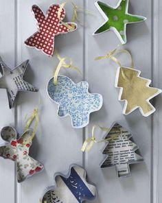 Cookie cutter decoration DIY