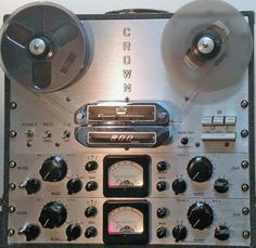 Reel to Reel Tape Recorder Manufacturers - Crown Audio, Inc. - Museum of Magnetic Sound Recording Crown Audio, Professional Audio, Tape Recorder, Museum, Museums