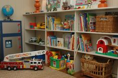 18 best playroom shelves images playroom ideas playroom playroom rh pinterest com Playroom Shelving Floor Bookshelves for Playroom