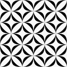 Excellent Screen black Ceramics Tile Suggestions So you have relocated to your new flat and you also locate that your particular floor is undesirable shape. Painting Patterns, Tile Patterns, Textures Patterns, Geometric Designs, Geometric Art, Black Decor, Abstract Pattern, Illusion, Design Elements