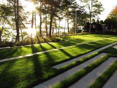 Landscape Architect Visit: A Very American Garden by Stephen Stimson, Hydrangeas Included