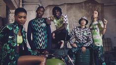 Nigeria and England have unveiled their new Nike home and away kits for the 2018 FIFA World Cup, and while the Three Lions' shirts are more traditional, the Super Eagles' home strip has a very modern style. Football Kits, Nike Football, Football Jerseys, World Cup 2018, Fifa World Cup, England Kit, World Cup Kits, Eagles Jersey, World Cup Jerseys