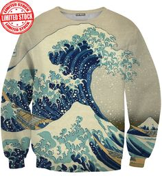 GREAT WAVE SWEATER | Aloha From Deer