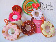 Chaveiros de Donuts
