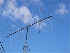 Homemade 6m cubical quad antenna.