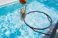 Gardenplaza - Ein Profi-Basketballkorb sorgt für mehr Spaß im eigenen Swimmingpool - Splash Dunk!