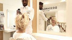 Cinemagraph tourné dans le salon DESSANGE Nantes rue de la paix #cinemagraph #dessange #hairinmotion