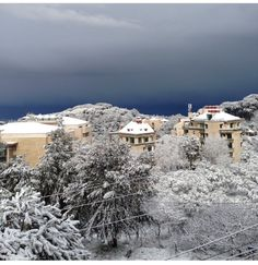 Snow in Broumana