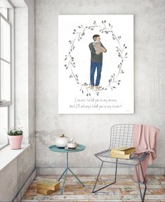 Thoughtful Father/'s Day Gift But I/'ll Always Hold You In My Heart Art Invisible Baby Printable Memorial Art I Never Held You In My Arms