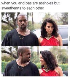 Funny Relatable Memes, Funny Facts, Funny Jokes, Hilarious, Relationship Memes, Cute Relationships, Kardashian Memes, Couple Memes, Jokes