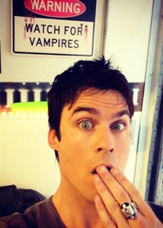 Couch Potato... The Vampire Diaries, Oh Damon you devil.