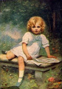( 1857-1942) E.Cabane - Goldelse
