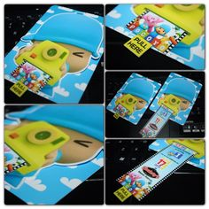 Pocoyo Invitation #kimif1creations