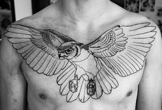 I usually find chest pieces to be confusing and ugly, but this is well executed.