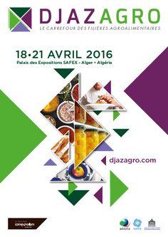 DJAZAGRO du 18 au 21 avril 2016 au Palais des Expositions de la SAFEX d'Alger.